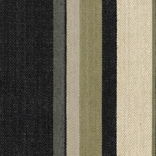 Onyx/Beige Stripes Drapery and Upholstery Fabric by Groundworks