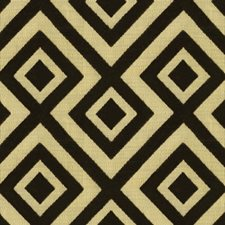 Chicory Geometric Drapery and Upholstery Fabric by Groundworks