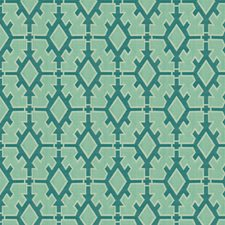 Teal Outdoor Drapery and Upholstery Fabric by Groundworks