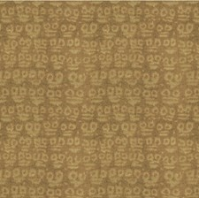 Taupe Geometric Drapery and Upholstery Fabric by Groundworks