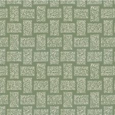 Steel Geometric Drapery and Upholstery Fabric by Groundworks