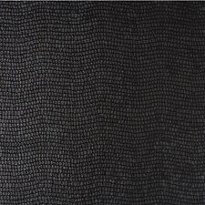 Black Animal Skins Drapery and Upholstery Fabric by Groundworks
