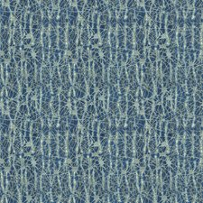Blues Contemporary Drapery and Upholstery Fabric by Groundworks
