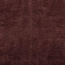 Plum Contemporary Drapery and Upholstery Fabric by Groundworks