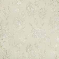 Beige/Grey Botanical Drapery and Upholstery Fabric by Groundworks