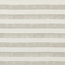 Ivory/Taupe Stripes Drapery and Upholstery Fabric by Groundworks