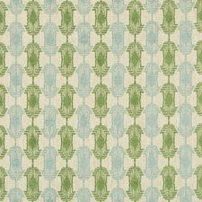 Aqua Green Modern Drapery and Upholstery Fabric by Groundworks