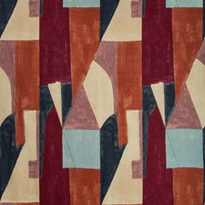 Claret Modern Drapery and Upholstery Fabric by Groundworks