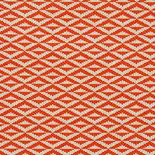 Orange Drapery and Upholstery Fabric by Scalamandre