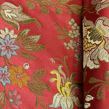 Rubies Drapery and Upholstery Fabric by Scalamandre