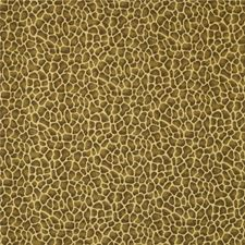 Yellow/Brown Animal Skins Drapery and Upholstery Fabric by Kravet