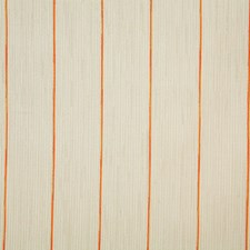 Tangerine Stripe Drapery and Upholstery Fabric by Pindler