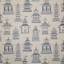 Midnight Damask Drapery and Upholstery Fabric by Pindler