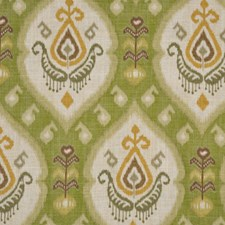 Avocado Drapery and Upholstery Fabric by RM Coco