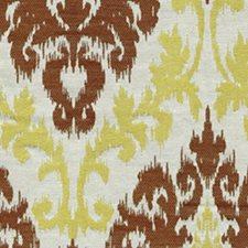 Lemon Chiffon Drapery and Upholstery Fabric by RM Coco