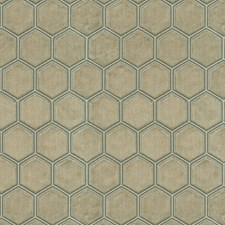 Brown Geometric Drapery and Upholstery Fabric by JF