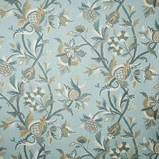 Verdigris Traditional Drapery and Upholstery Fabric by Pindler