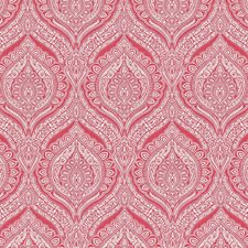 Cerise Drapery and Upholstery Fabric by Kasmir