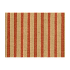 Pekin Red Stripes Drapery and Upholstery Fabric by Brunschwig & Fils
