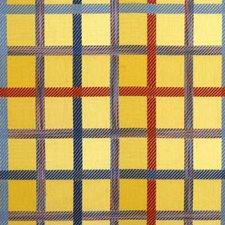 Sun Plaid Drapery and Upholstery Fabric by Groundworks