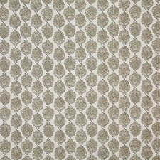 Taupe Print Drapery and Upholstery Fabric by Pindler
