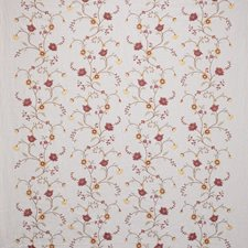 Sienna Embroidery Drapery and Upholstery Fabric by Laura Ashley