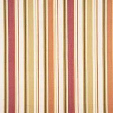 Pink/Cream Stripes Drapery and Upholstery Fabric by Baker Lifestyle