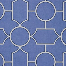 Cobalt Drapery and Upholstery Fabric by RM Coco