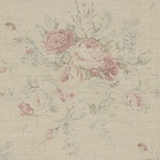 Vintage Rose Drapery and Upholstery Fabric by Ralph Lauren