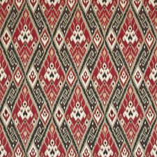 Navajo Red Drapery and Upholstery Fabric by Kasmir
