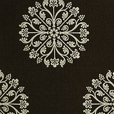 Espresso Damask Drapery and Upholstery Fabric by Pindler