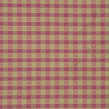 Penrith Check-Rose/Le Check Drapery and Upholstery Fabric by Lee Jofa