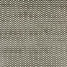 Silver Velvet Drapery and Upholstery Fabric by Baker Lifestyle