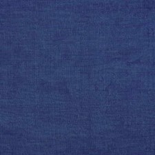 Blue Silk Drapery and Upholstery Fabric by G P & J Baker