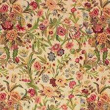 Port Eliot Prin-Cream Botanical Drapery and Upholstery Fabric by Lee Jofa