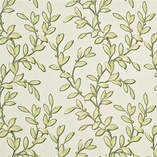 Leaf/Ivory Print Drapery and Upholstery Fabric by Baker Lifestyle