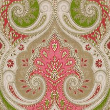 Fuchsia/Lime Damask Drapery and Upholstery Fabric by Baker Lifestyle