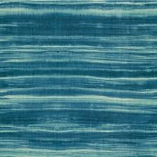 Blue/Indigo/Ivory Modern Drapery and Upholstery Fabric by Kravet