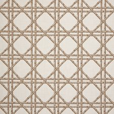 Rattan Drapery and Upholstery Fabric by Silver State