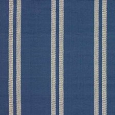 Blue Stripes Drapery and Upholstery Fabric by Baker Lifestyle