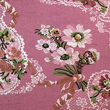 Multi On Fucshia Drapery and Upholstery Fabric by Scalamandre