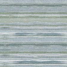Spa/White/Green Stripes Drapery and Upholstery Fabric by Kravet