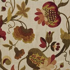 Wine Drapery and Upholstery Fabric by Stout