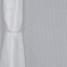 Winter White Drapery and Upholstery Fabric by RM Coco