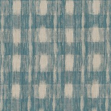 Teal Ethnic Drapery and Upholstery Fabric by Duralee