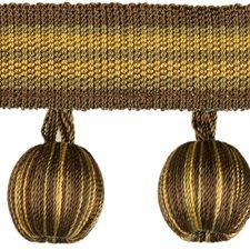 Tassel Fringe Chestnut Trim by Kravet