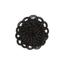 Button Black Trim by Brunschwig & Fils