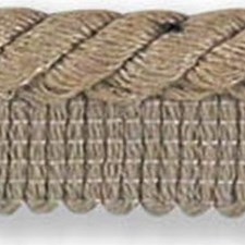 Cord With Lip Beige/Grey Trim by Kravet
