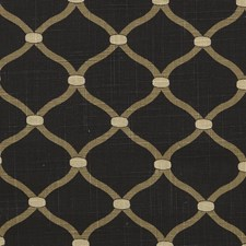 Ebony Drapery and Upholstery Fabric by Stout