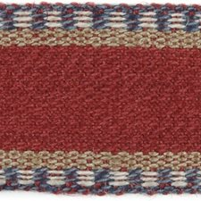Tapes Red/Blue Trim by Lee Jofa
